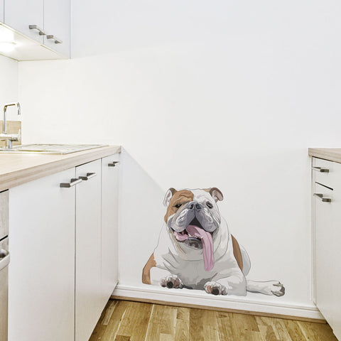 Humphrey the Bulldog Wall Decal