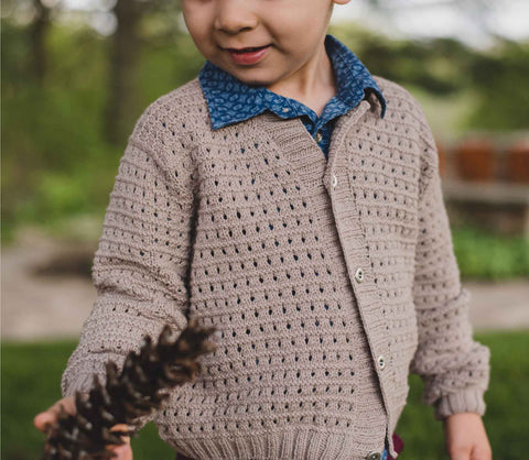 Eyelet Ridge Sweater