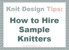 How to Hire Sample Knitters