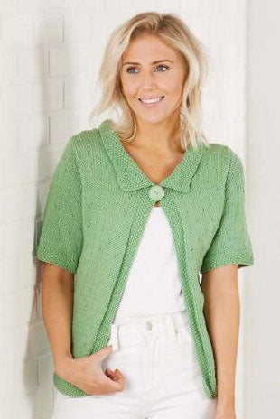 Spotted Seed Cardi