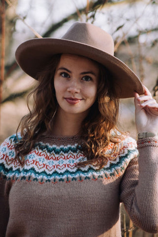 Hidden Hearts Fair Isle Sweater