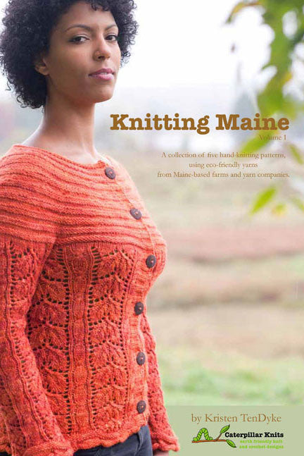 Knitting Maine Pattern Book Kristen Tendyke Kristen Tendyke