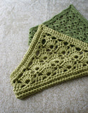 Lacy Crochet Kerchief