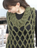 Mesh Dress Sample Sweater