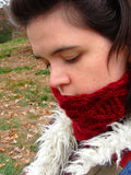 Royal Lattice Cowl