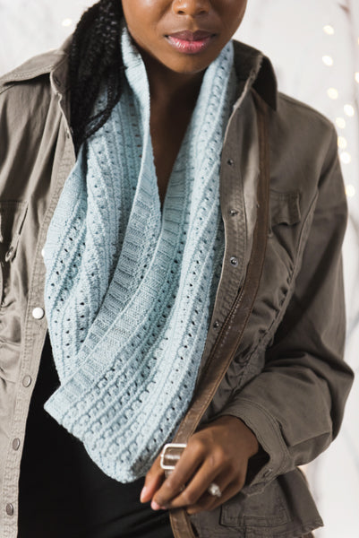 Winter Ridge Infinity Scarf
