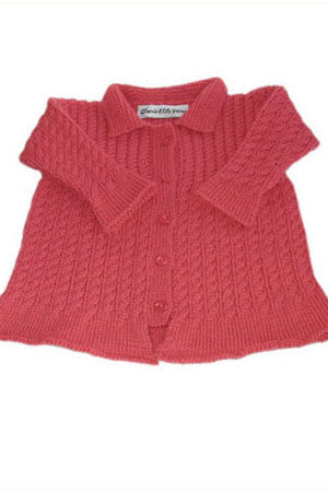 Cabled Baby Jacket