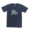 ALOHA SUNDAY ACCESS TEE NAVY