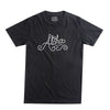 ALOHA SUNDAY CASTINGS TEE BLACK