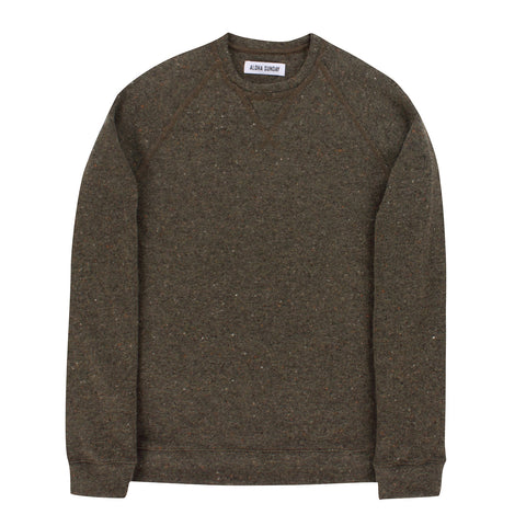 CARTER SWEATER - OLIVE - ALOHA SUNDAY