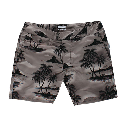 BRENNECKE SWIM SHORT - BLACK
