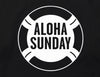 LIFESAVER (BK PRT) - BLACK - ALOHA SUNDAY