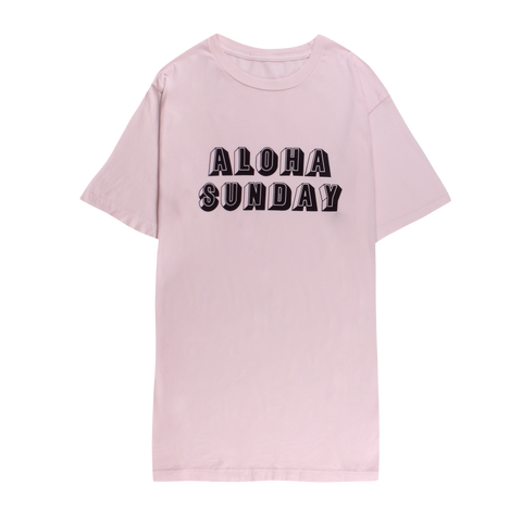 BLOCKED - PINK - ALOHA SUNDAY