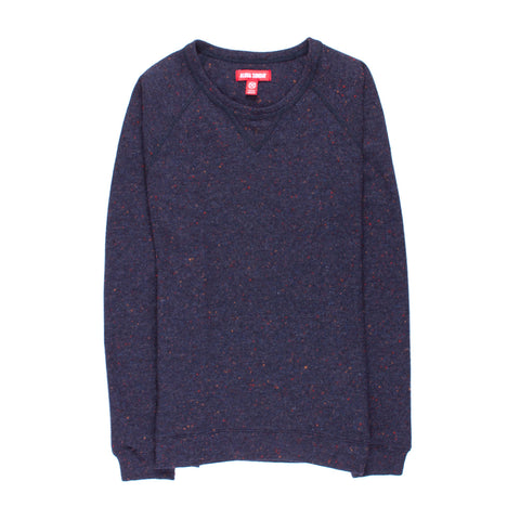 ALOHA SUNDAY NAVY CARLETON SWEATER