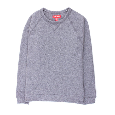ALOHA SUNDAY GREY COLBY SWEATER