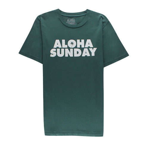 ALOHA SUNDAY - DUSK PALM GREEN