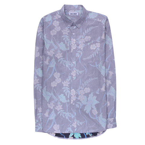 ALOHA SUNDAY FLORA LONG SLEEVE
