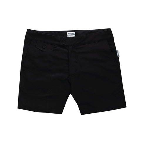 KALAPANA SWIM SHORT - BLACK