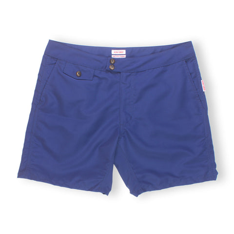 "LANIKAI 16"" - DEEP BLUE SWIM SHORTS - ALOHA SUNDAY"