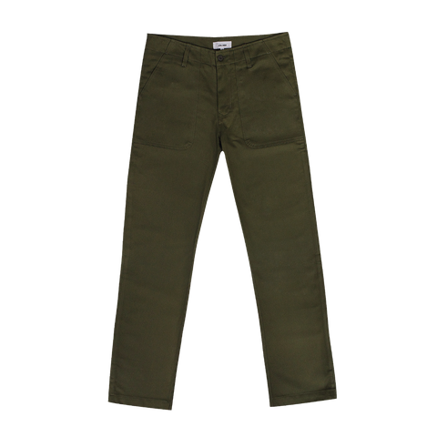 ROUTE FATIGUE PANT - OLIVE - ALOHA SUNDAY