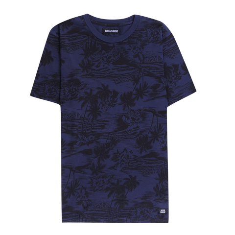 SEA LODGE T  - NAVY - ALOHA SUNDAY