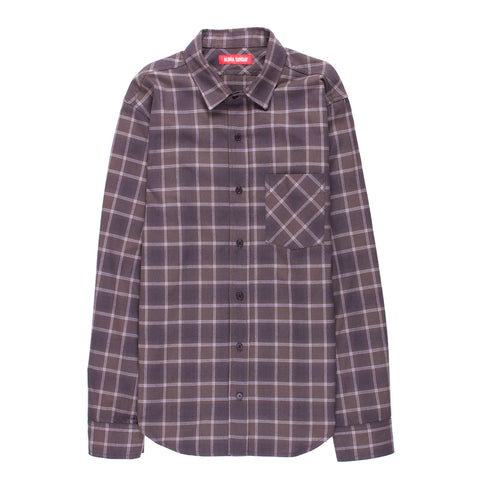 ALOHA SUNDAY WHITMAN PLAID FLANNEL SHIRT