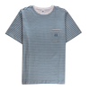 WALLIS STRIPE - PALE AQUA