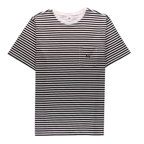 WALLIS STRIPE - BLACK - ALOHA SUNDAY