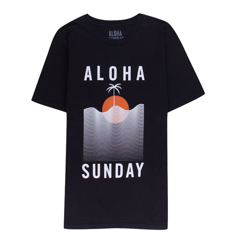ALOHA SUNDAY - WATERLINE BLACK