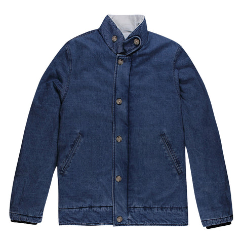 WOODSIDE DECK JACKET - WASHED DENIM