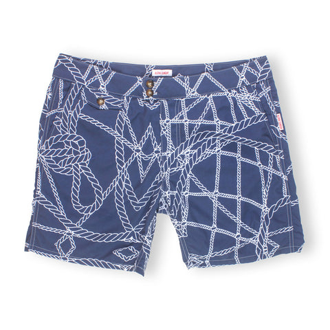 BRANDO - NAVY BLUE & WHITE - ALOHA SUNDAY