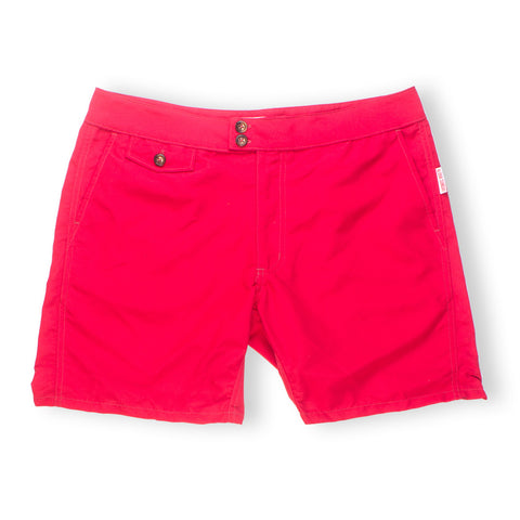 "LANIKAI 16"" - TRUE RED SWIM SHORTS - ALOHA SUNDAY"