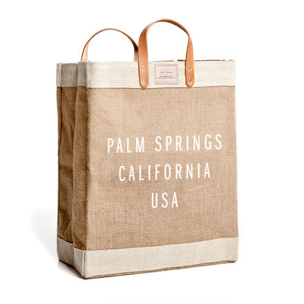 APOLIS X ALOHA SUNDAY PALM SPRINGS MARKET BAG