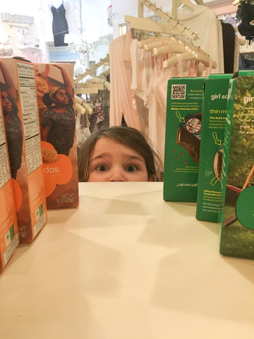 Our Little Girl Scout/Cookie Supplier