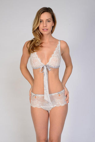 Samantha Chang Keyhole Boyshort - Knickers & Pearls Boutique - 1