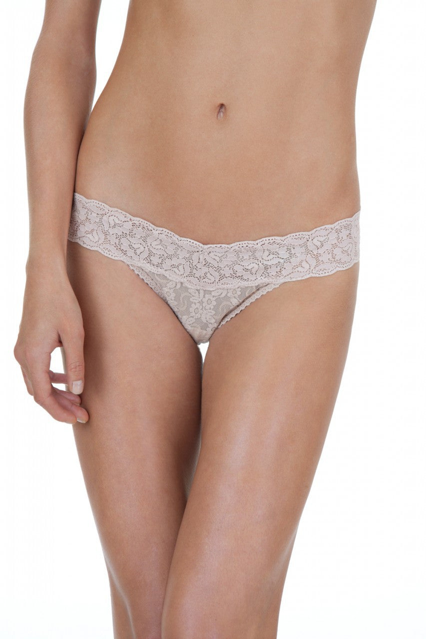 Only Hearts Low Rise Stretch Lace Must Have Thong - Knickers & Pearls Boutique - 2
