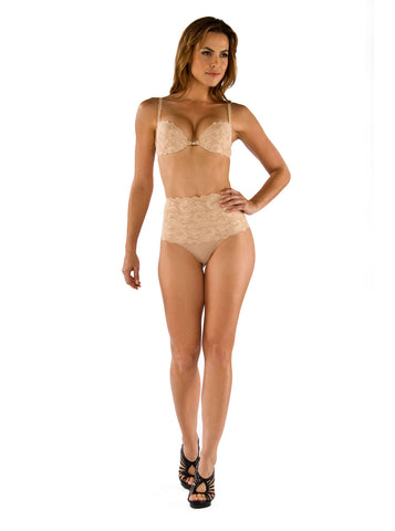 Cosabella Never Say Never High-Waisted Shaping Bikini