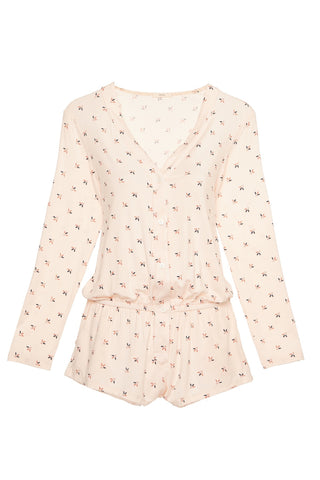 Eberjey Tulipan Long Sleeve Teddy
