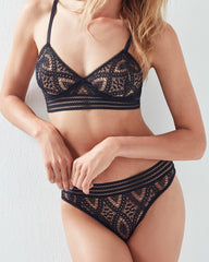 Else Lingerie Baroque Underwire Triangle Bra