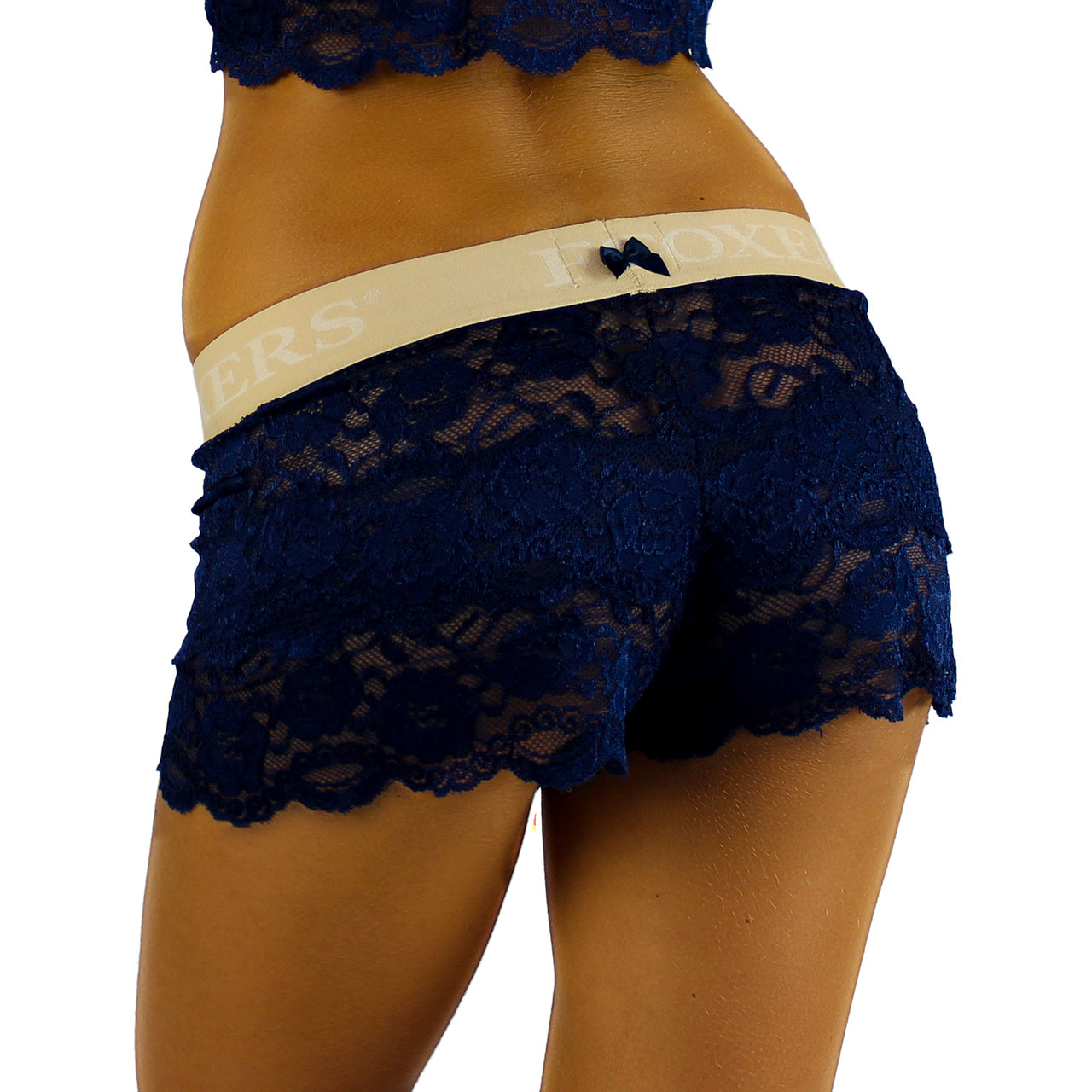 Foxers Lace Boxers with Foxers Logo Band