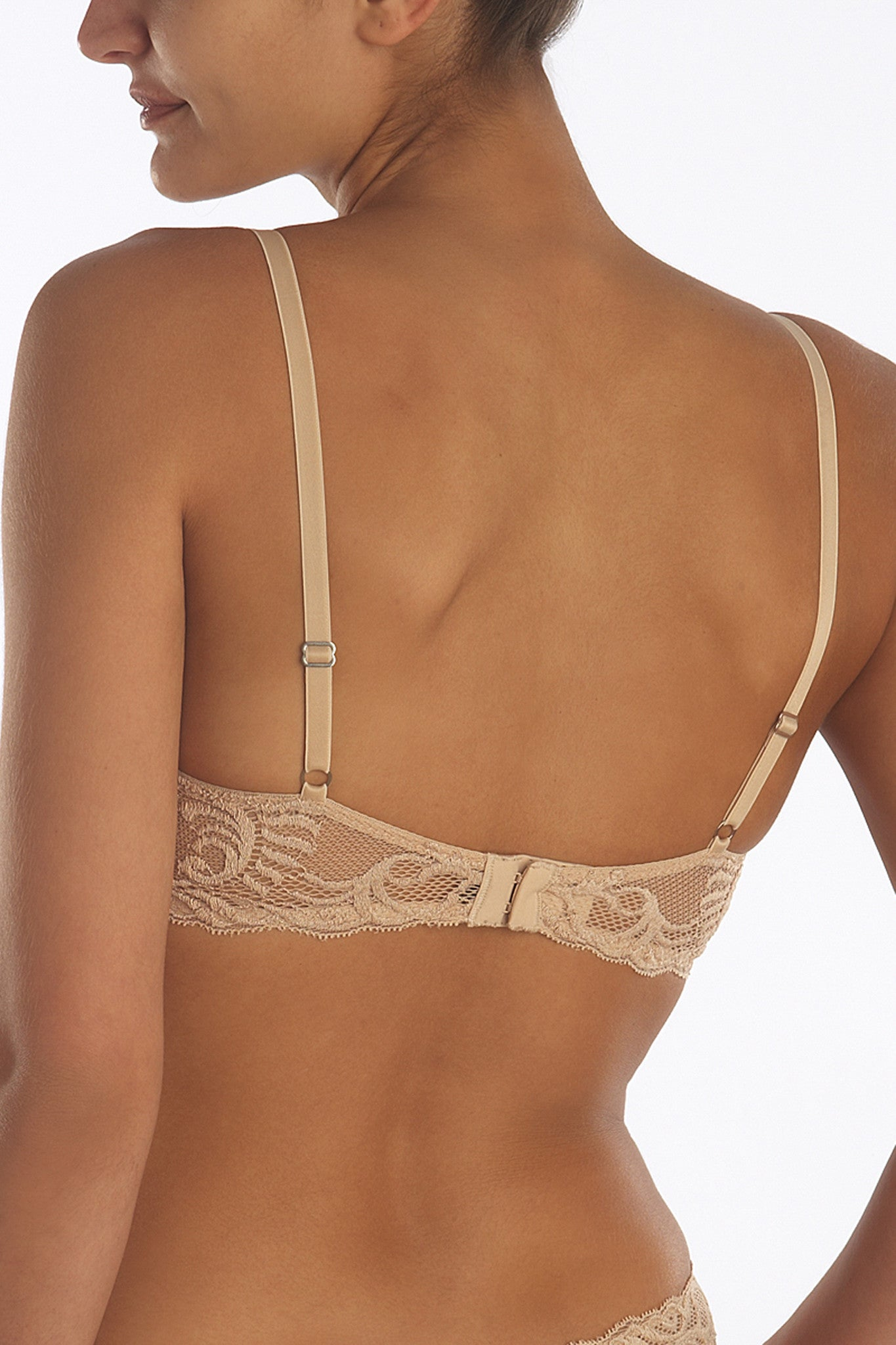 Natori Feathers Contour Plunge Bra - Knickers & Pearls Boutique - 2
