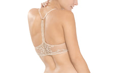 Natori Feathers Front Close T-Back Bra - Knickers & Pearls Boutique - 3