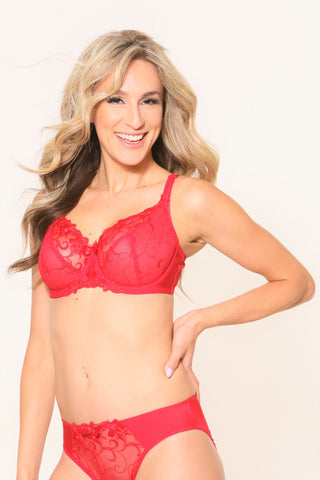Fit Fully Yours Joyce See-Thru Bra