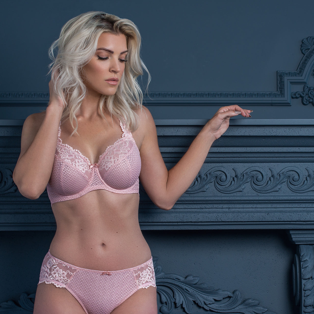 5ad1091ebb3 Fit Fully Yours Serena Lace Bra – Knickers   Pearls Boutique