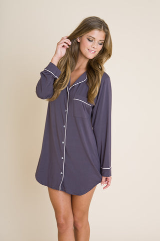 Eberjey Gisele Sleepshirt - Knickers & Pearls Boutique - 4