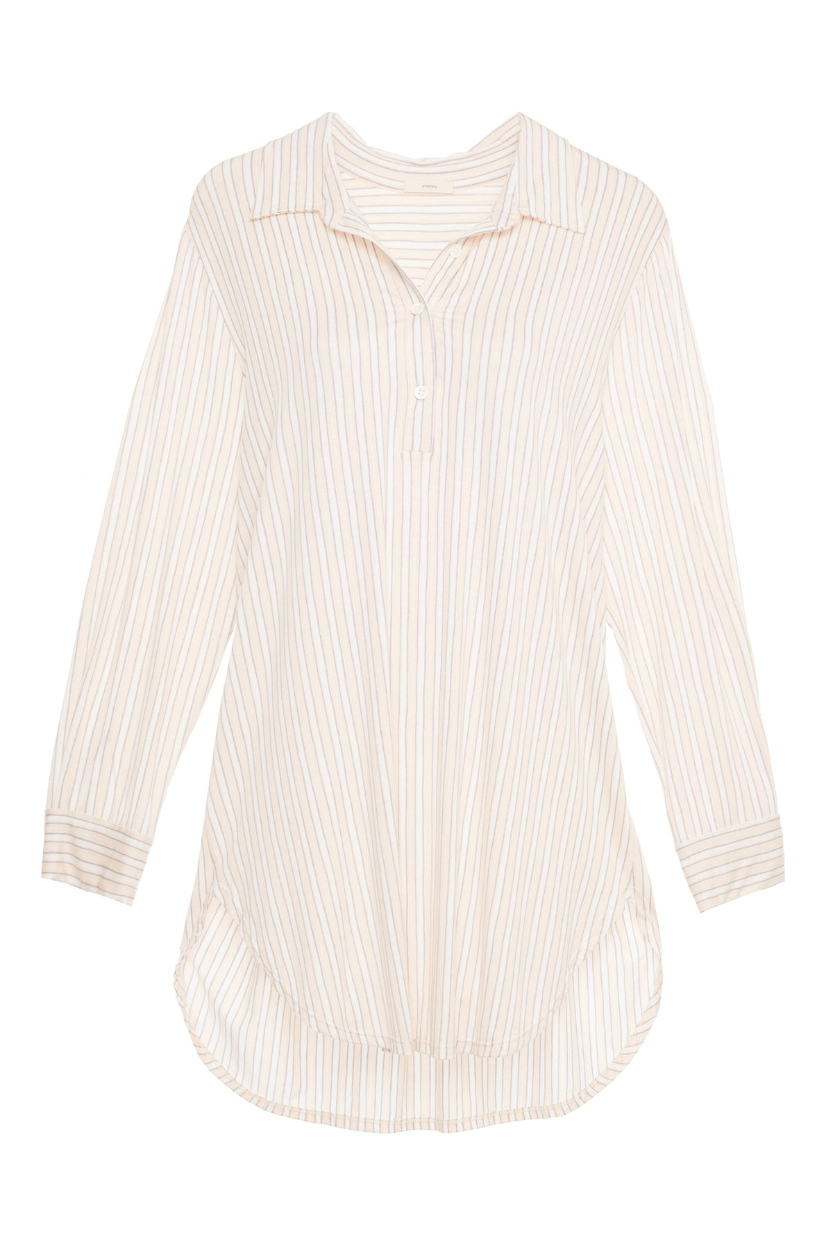 Eberjey Striped Boyfriend Sleepshirt