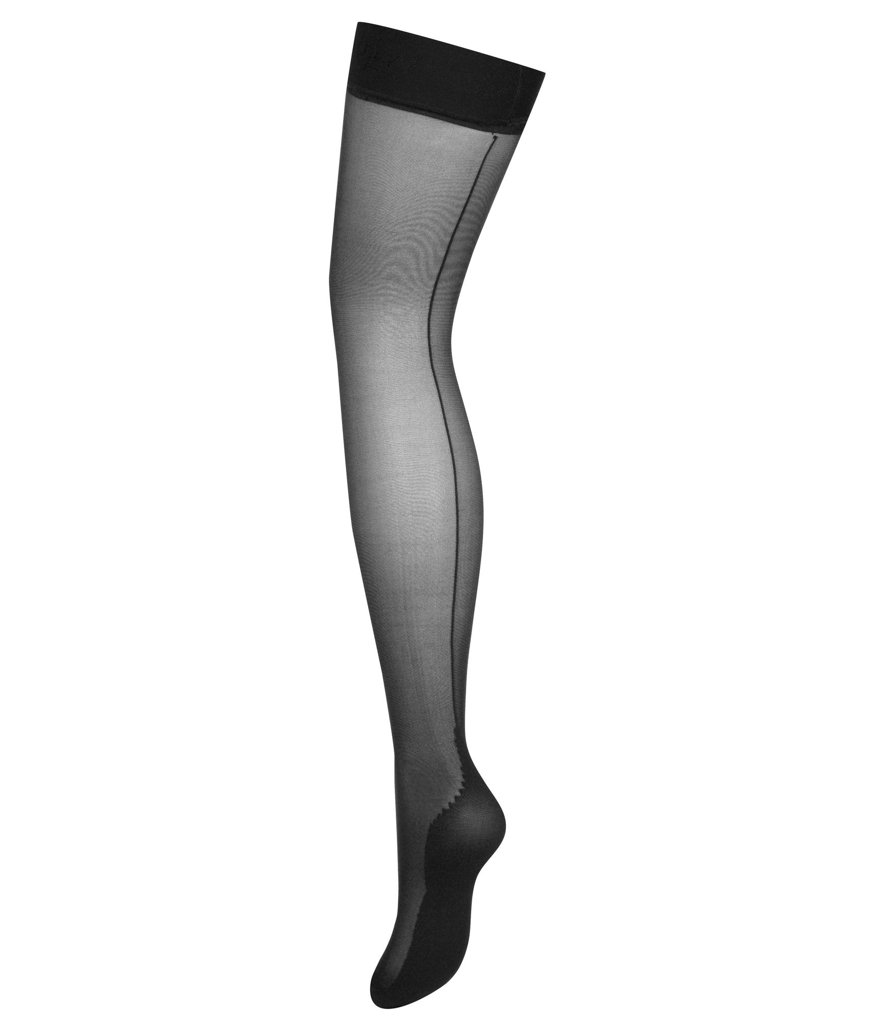 L'Agent by Agent Provocateur Seam & Heel Hold Ups - Knickers & Pearls Boutique - 2