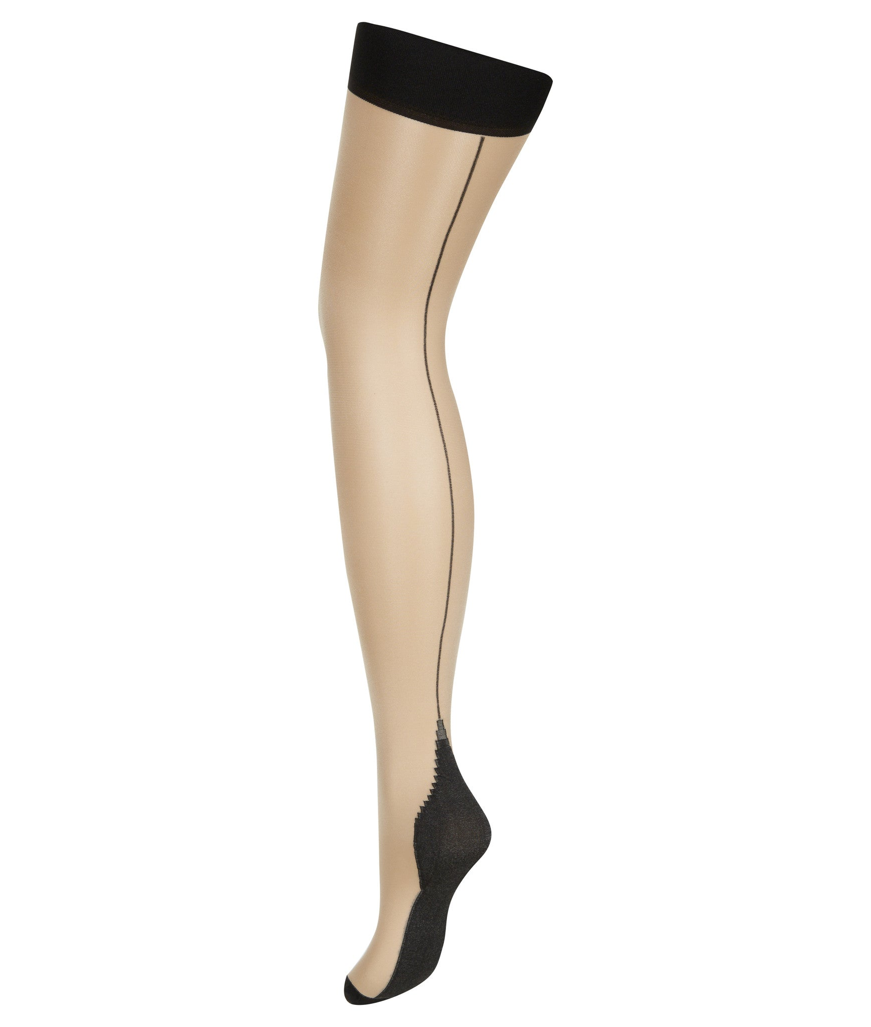 L'Agent by Agent Provocateur Seam & Heel Stretch Stocking - Knickers & Pearls Boutique - 1