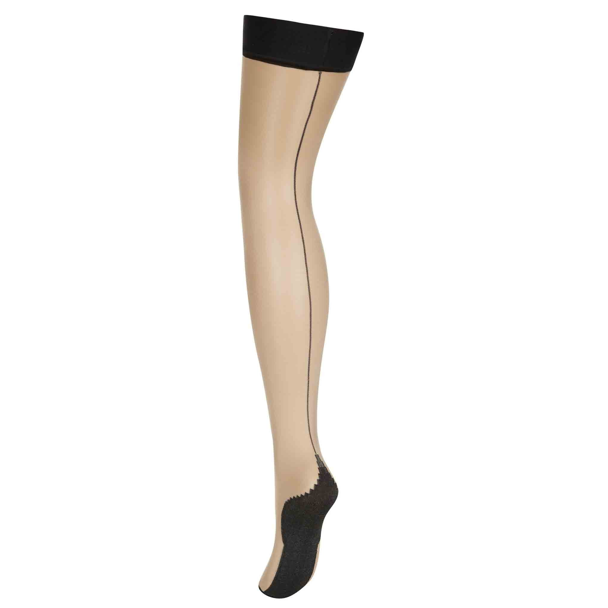 L'Agent by Agent Provocateur Seam & Heel Hold Ups