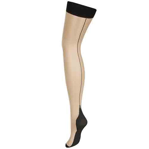 L'Agent by Agent Provocateur Seam & Heel Stretch Stocking